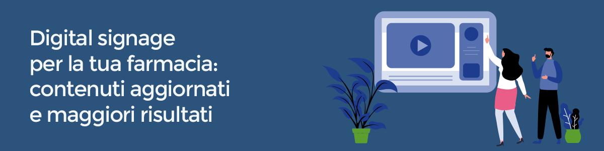 digital signage piattaforma farmacia evoluta